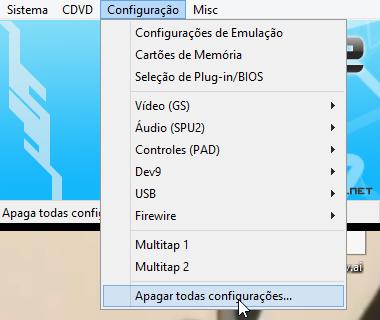 Configurando o PCSX2
