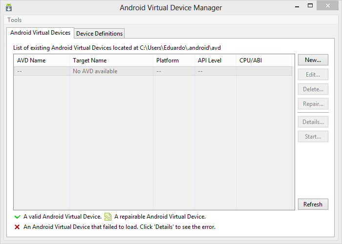 Android VDM