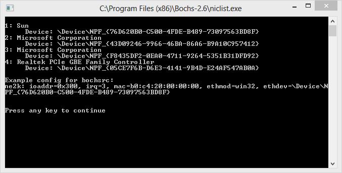 Obtendo lista de adaptadores WinPCap